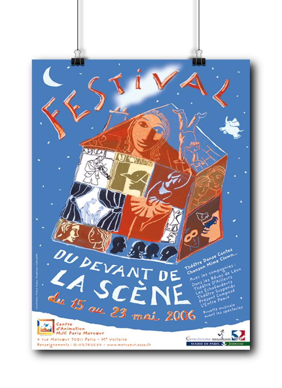 Festival du Devant de la Scène MJC Mercœur 2006