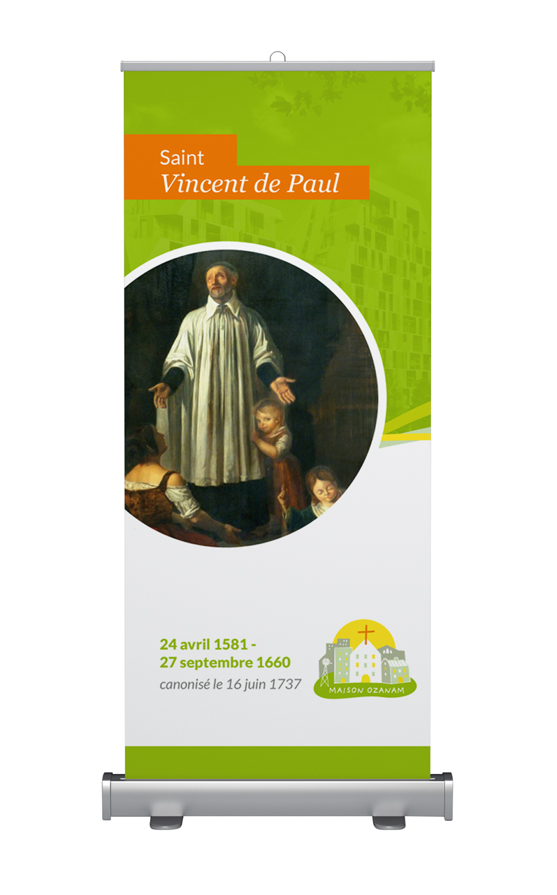 Kakémono Saint Vincent de Paul