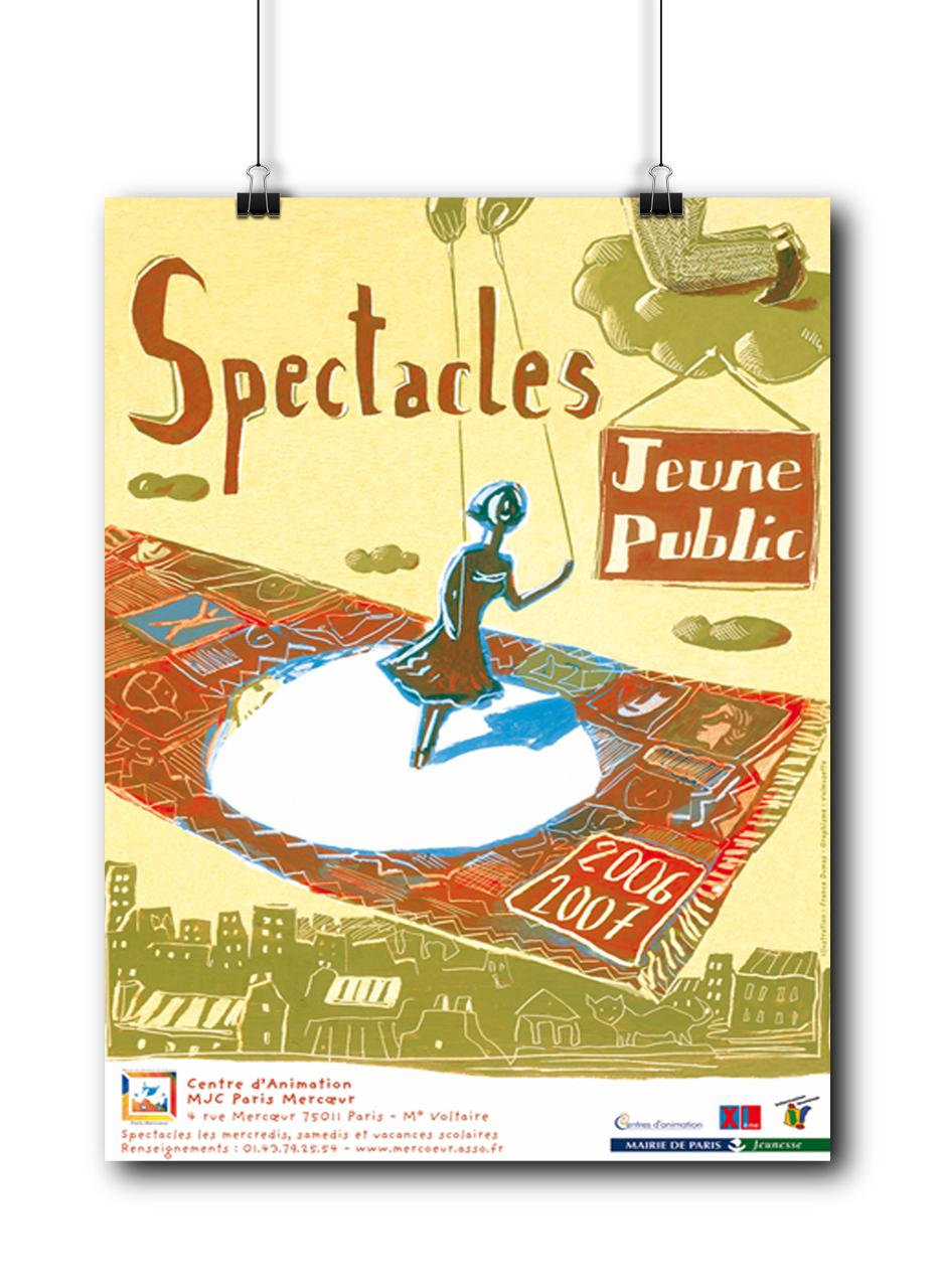 Spectacles Jeune Public MJC Mercœur 2006-2007